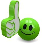 Daumen hoch Smiley